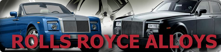 Rolls Royce Alloys, Wheels and Tyres