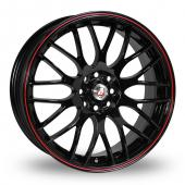 Calibre Motion 2 Black Alloy Wheels