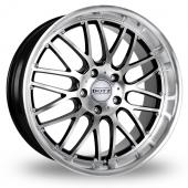 Dotz Mugello Black Polished Alloy Wheels