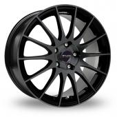 Fox FX004 Black Alloy Wheels