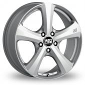 MSW 19 Silver Alloy Wheels
