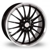 Team Dynamics Jet Black Alloy Wheels