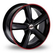 Team Dynamics Cyclone Code Red Alloy Wheels