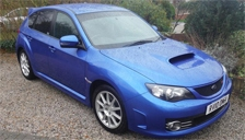 Subaru Impreza STI Alloy Wheels and Tyre Packages.