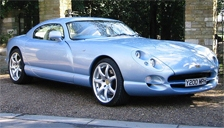 TVR Cerbera Alloy Wheels and Tyre Packages.