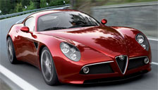 Alfa Romeo 8C Alloy Wheels and Tyre Packages.