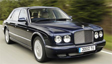 Bentley Arnage Alloy Wheels and Tyre Packages.