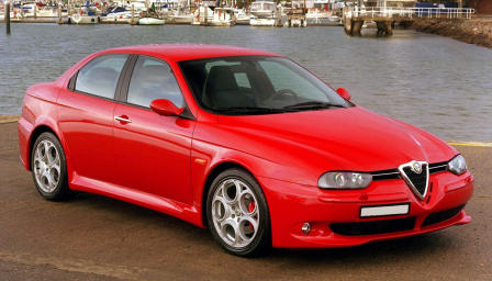 Alfa Romeo 156 (Inc Sportwagon) Alloy Wheels and Tyre Packages.