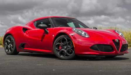 Alfa Romeo 4C Alloy Wheels and Tyre Packages.