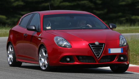 Alfa Romeo Giulietta Alloy Wheels and Tyre Packages.