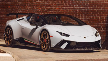 Lamborghini Huracan Performante Alloy Wheels and Tyre Packages.