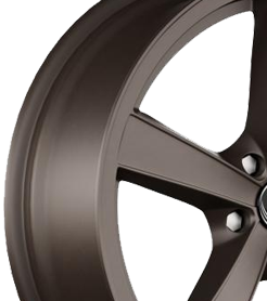 Brown Alloy Wheels