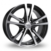 Image for BK_Racing 182 Black_Polished Alloy Wheels