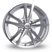 Image for BK_Racing 182 Silver_Polished Alloy Wheels