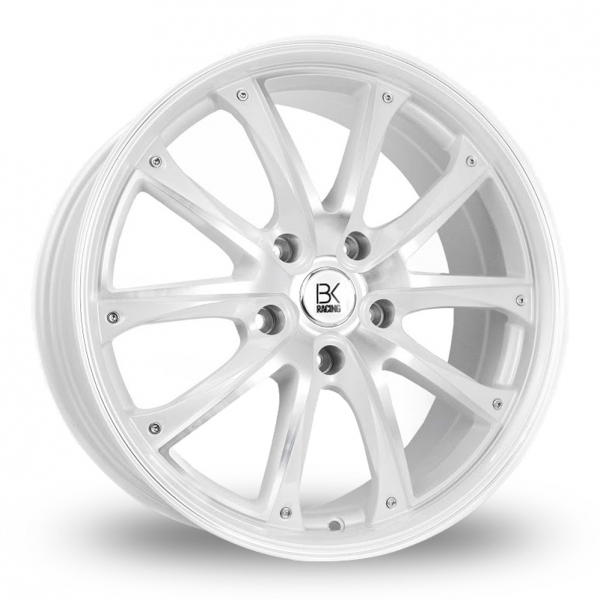 Zoom BK_Racing 201 White_Polished Alloys