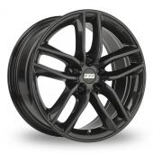 BBS SX Black Alloy Wheels