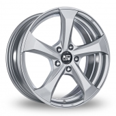Image for MSW_(by_OZ) 47 Silver Alloy Wheels