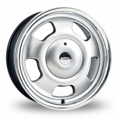 Image for Wolfrace Slot_Mag Silver Alloy Wheels
