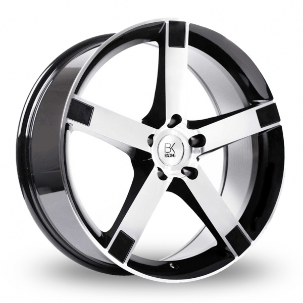 Zoom BK_Racing 677 Black_Polished Alloys