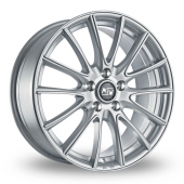 Image for MSW_(by_OZ) 86 Silver Alloy Wheels