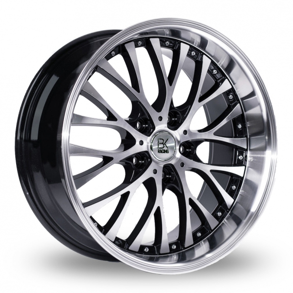 Zoom BK_Racing 861_WP Black_Polished Alloys