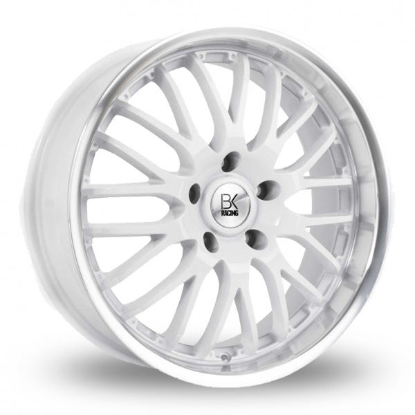 Zoom BK_Racing 866 White Alloys