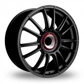 Fondmetal 9RR Monodado Black Alloy Wheels