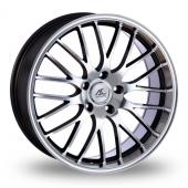 AC Wheels Hypnotic Grey Polished Alloy Wheels