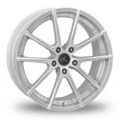 AC Wheels Cruze Silver Alloy Wheels