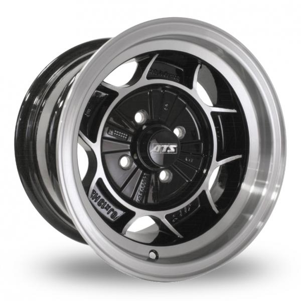"ATS Classic Black Polished 13"" Alloy Wheels - Wheelbase"