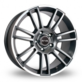 Image for Riva ATV_5x120_Wider_Rear Grey Alloy Wheels