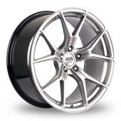 AVA Dallas Hyper Silver Alloy Wheels