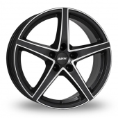 Alutec Raptr Black Polished Alloy Wheels