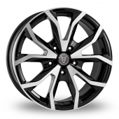 Image for Wolfrace Assassin_CV Black_Polished Alloy Wheels