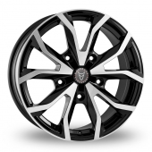 Image for Wolfrace Assassin_TRS Black_Polished Alloy Wheels