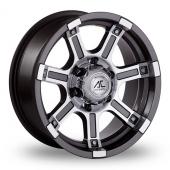 AC Wheels Atlas Gun Metal Polished Alloy Wheels