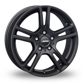 Autec Mugano Matt Black Alloy Wheels