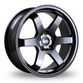 Bola B1 Gun Metal Alloy Wheels