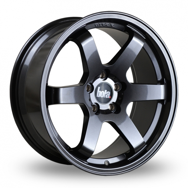 Bola B1 Gun Metal Alloy Wheels Wheelbase