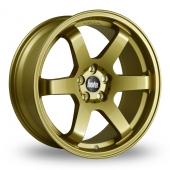 Bola B1 Gold Alloy Wheels