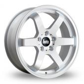 Bola B1 White Alloy Wheels