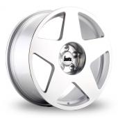 Bola B10 Silver Polished Alloy Wheels