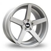 Bola B2 Silver Alloy Wheels