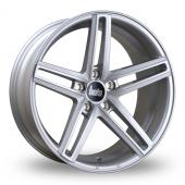 Bola B3 Silver Alloy Wheels