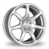 Bola B7 Silver Alloy Wheels
