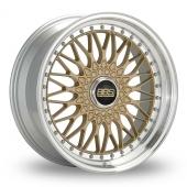 BBS Super RS Gold Alloy Wheels