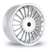 BK Racing 171 Silver Alloy Wheels