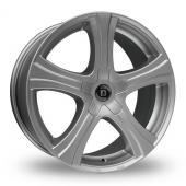 Diewe Barba Silver Alloy Wheels