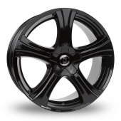 Diewe Barba Gloss Black Alloy Wheels