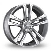 MAK Bimmer Silver Alloy Wheels